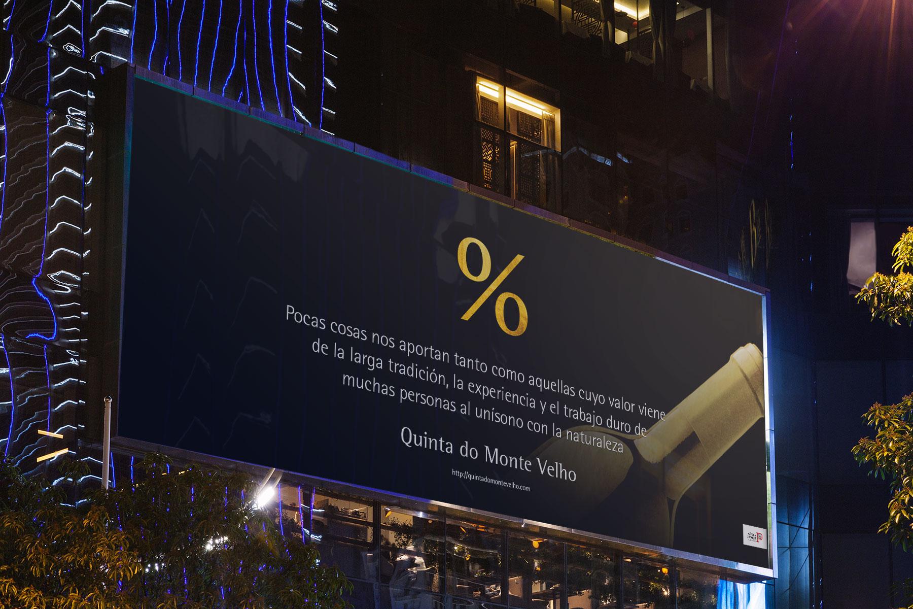 Publicidad Quinta do Monte Velho